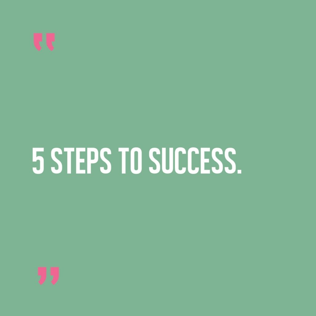 5 steps to creating a successful online business