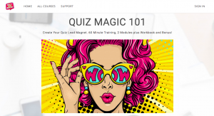 QUIZ MAGIC 101 by Heather Carr