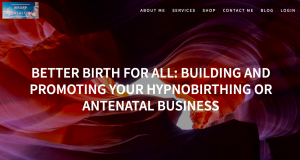 BETTER BIRTH FOR ALL: BUILDING AND PROMOTING YOUR HYPNOBIRTHING OR ANTENATAL BUSINESS by Heather Wrathall