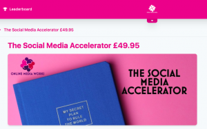 The Social Media Accelarator by Esther Partridge-Warner