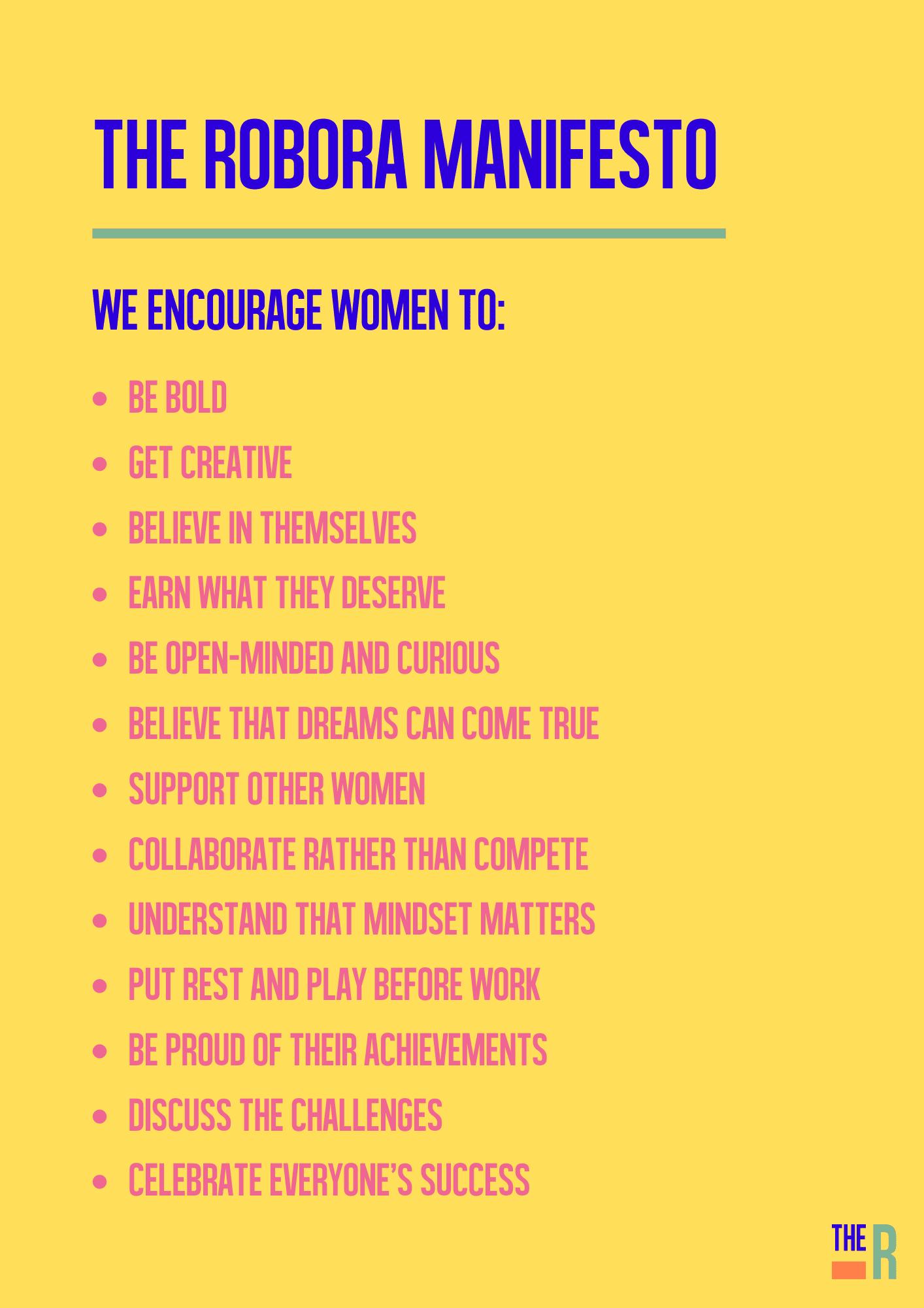 The Robora manifesto