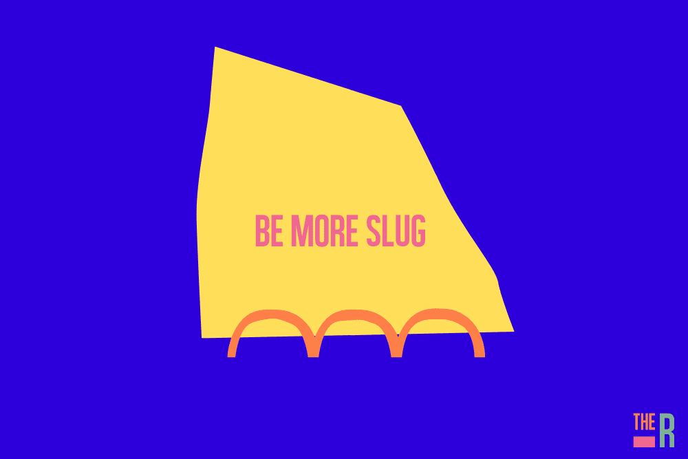 We should all be like slugs, in business